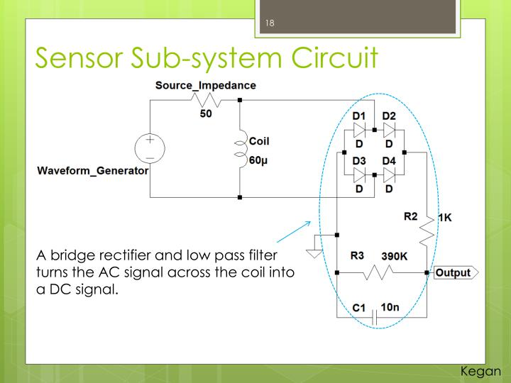 Sensor Sub-system Circuit