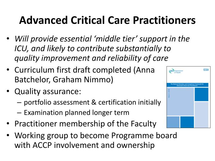 Advanced Critical Care Practitioners