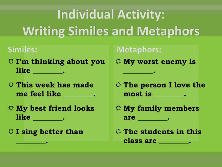 Individual Activity: