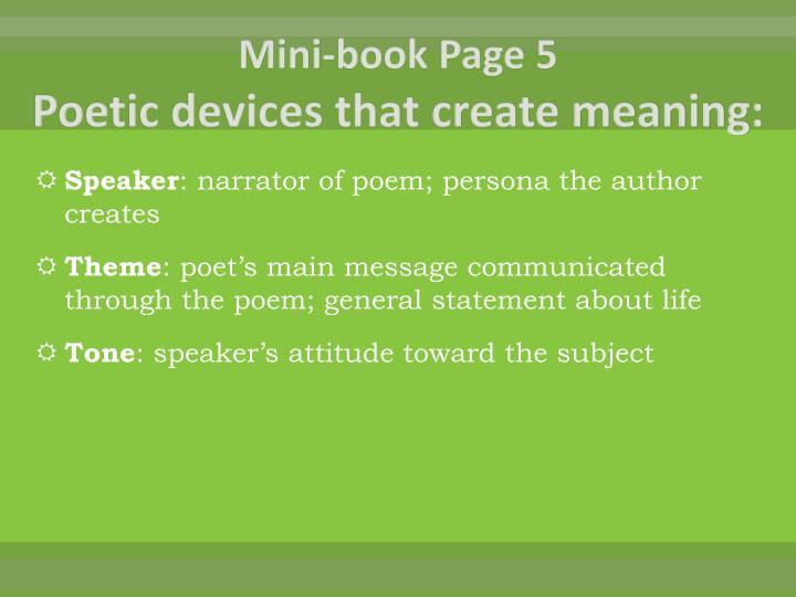 Mini-book Page 5