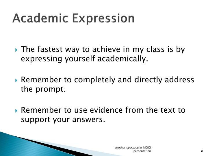 Academic Expression