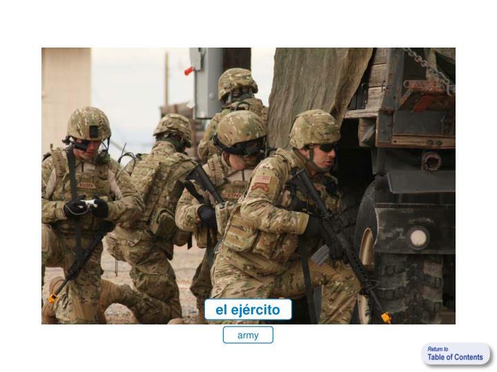 el ejército