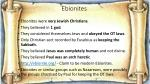 ebionites