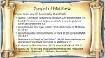 gospel of matthew1