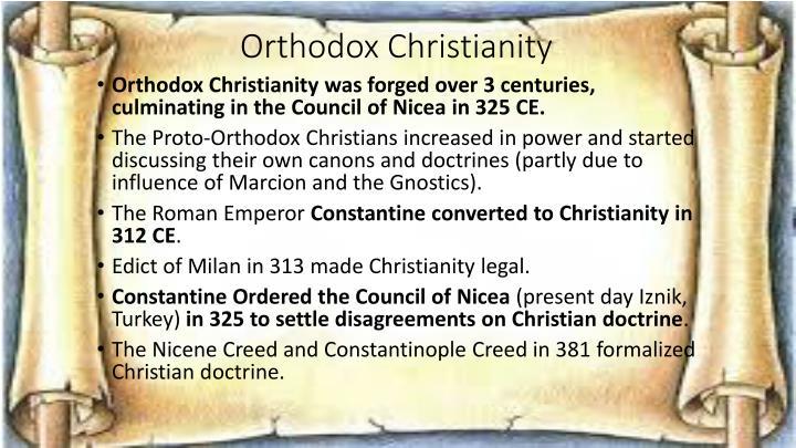 Orthodox Christianity