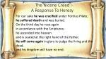 the nicene creed a response to heresy