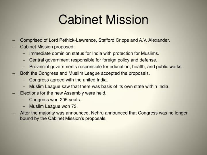 Cabinet Mission