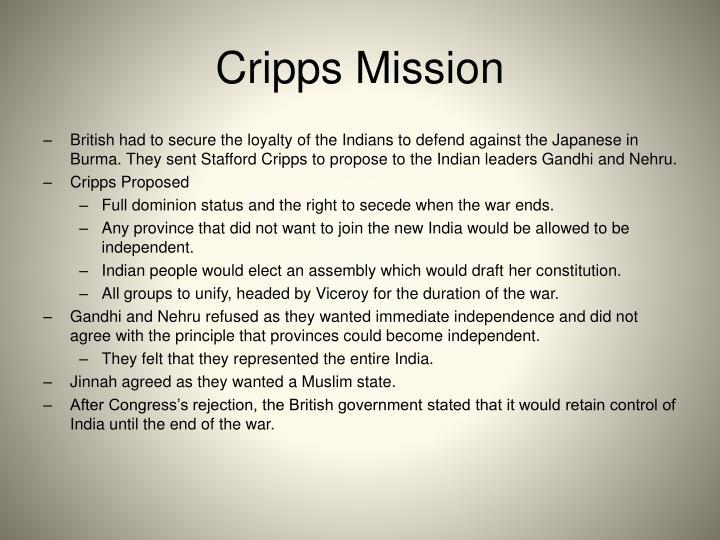 Cripps Mission