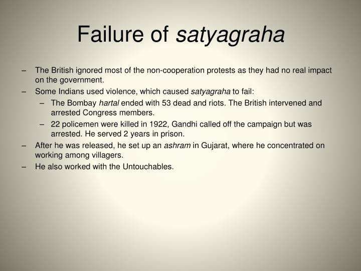 Failure of
