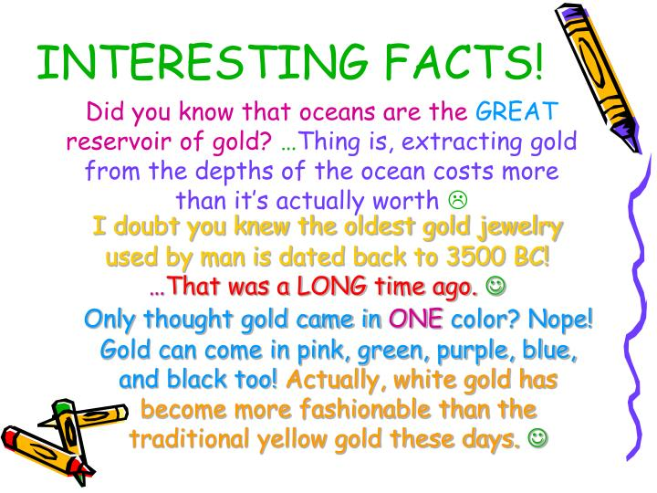 INTERESTING FACTS!