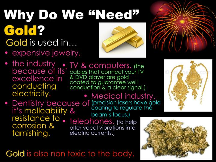 "Why Do We ""Need"""