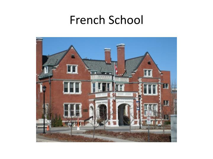 French School