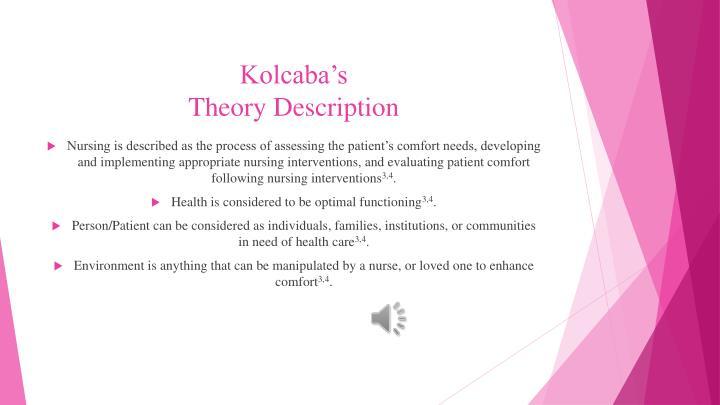 Kolcaba's