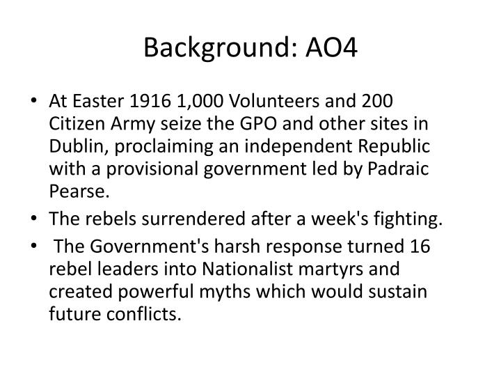 Background: AO4