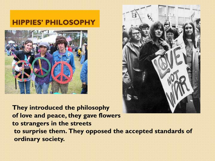 Hippies philosophy