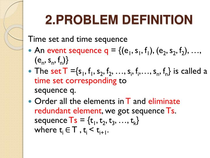 2.PROBLEM DEFINITION