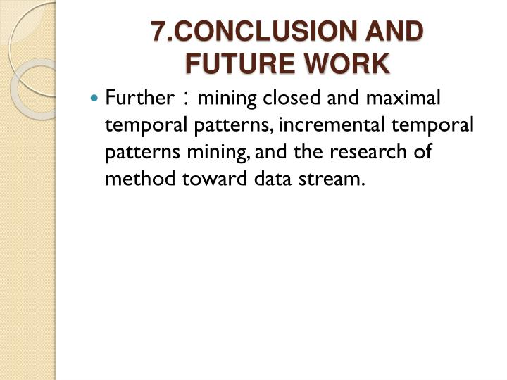 7.CONCLUSION AND