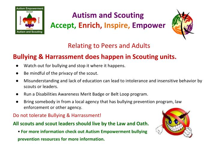 Autism and Scouting