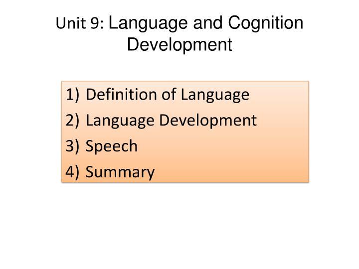 Unit 9: