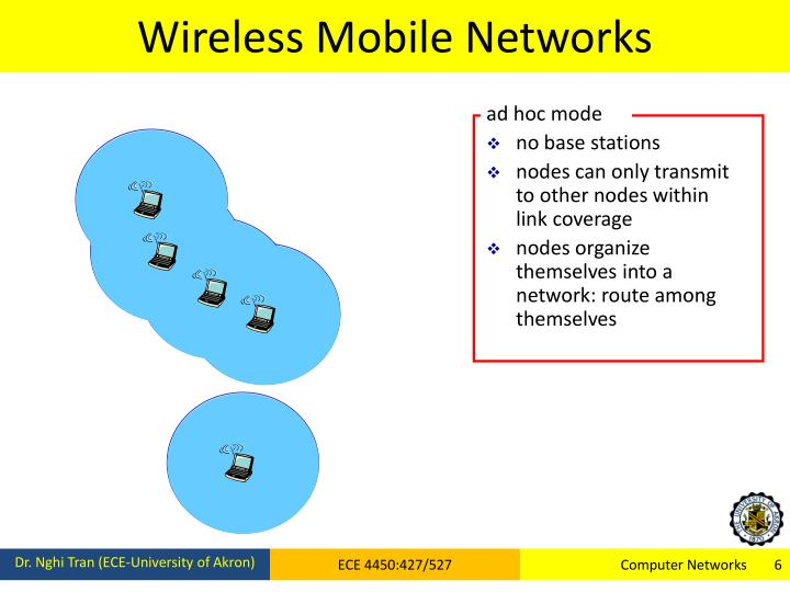 Wireless Mobile Networks