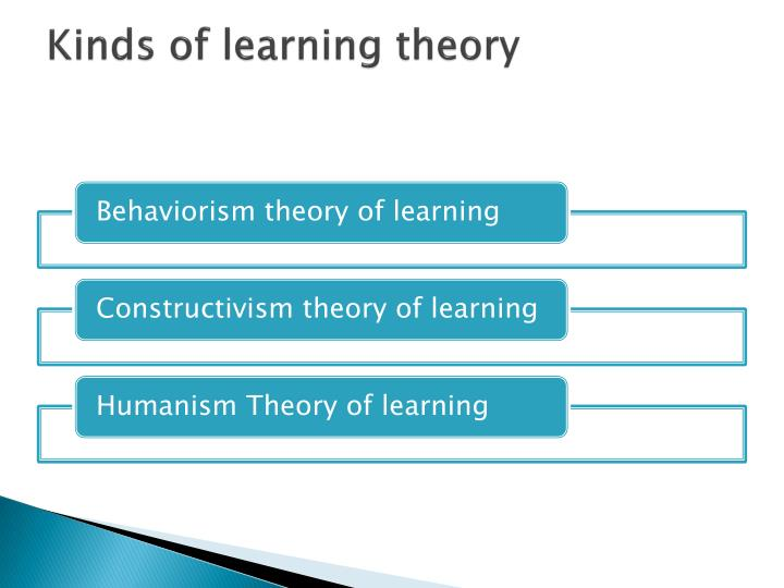 Kinds of learning theory