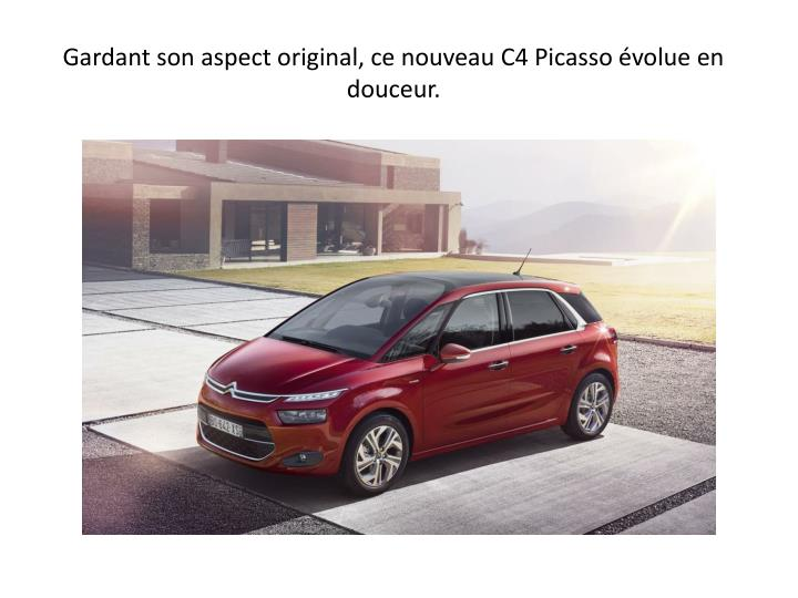 Gardant son aspect original, ce nouveau C4 Picasso volue en douceur.