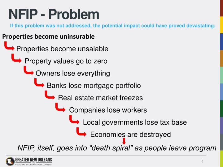 NFIP - Problem