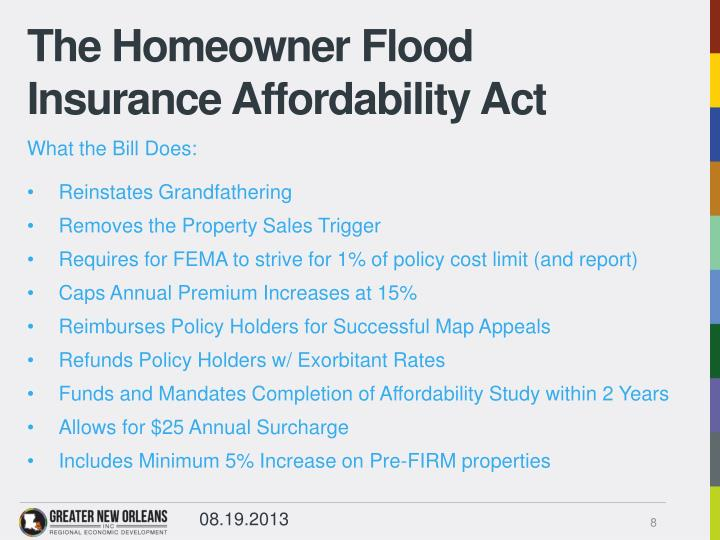 The Homeowner Flood Insurance Affordability Act