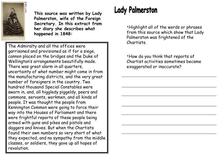 Lady Palmerston