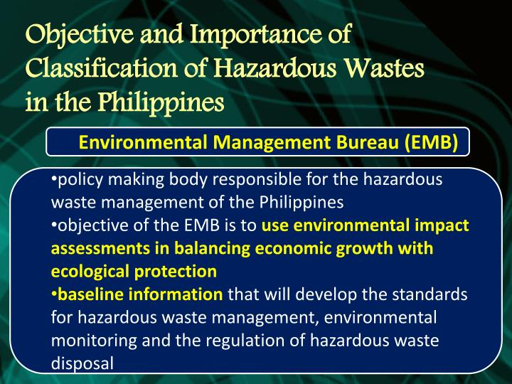 waste management and environmental bodies Looking for international resources on waste management  processing end-of -life vehicles: a guide for environmental protection, safety and profit  to web resources for cross-national organizations national governments news services .
