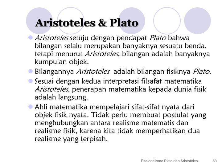 Aristoteles & Plato