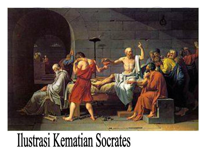 Ilustrasi Kematian Socrates