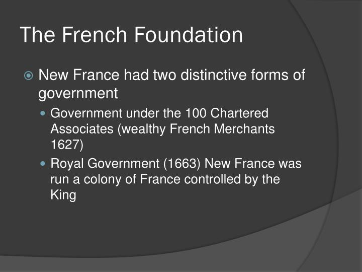 The French Foundation