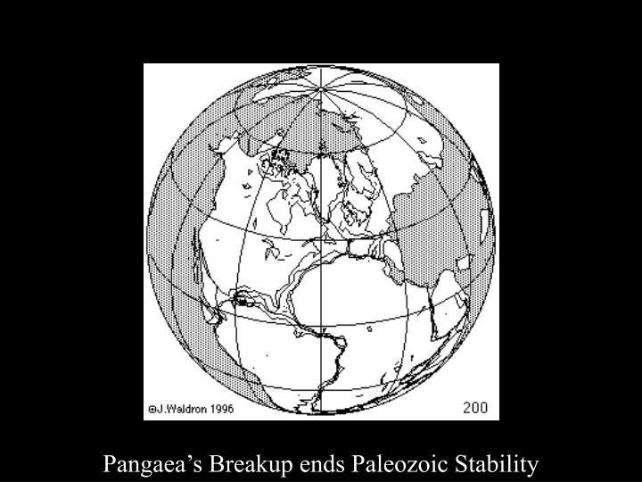 Pangaea Breakup
