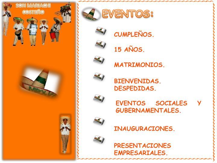 EVENTOS: