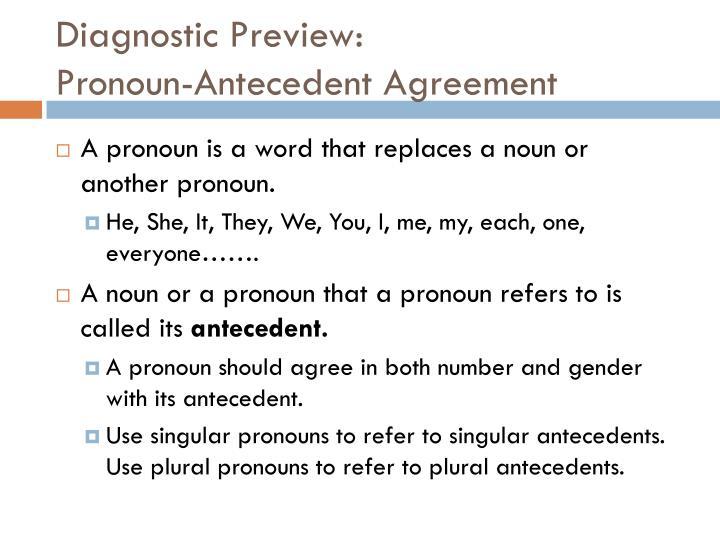 Diagnostic Preview: