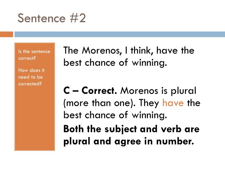 Sentence #2
