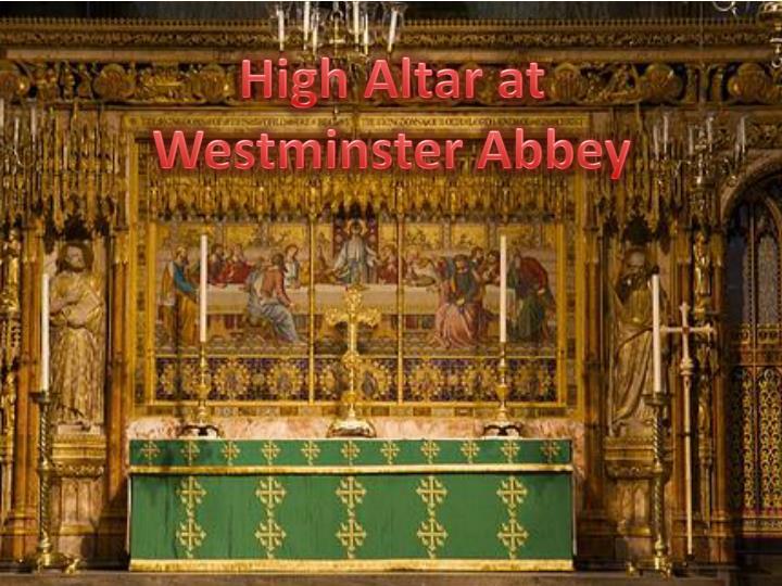 High Altar at