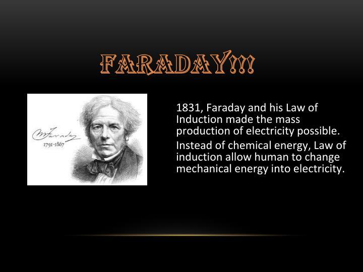 Faraday!!!