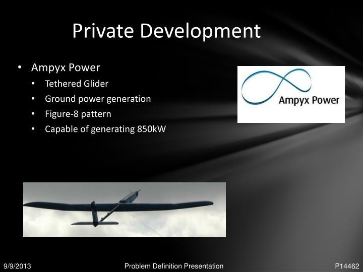 Private Development
