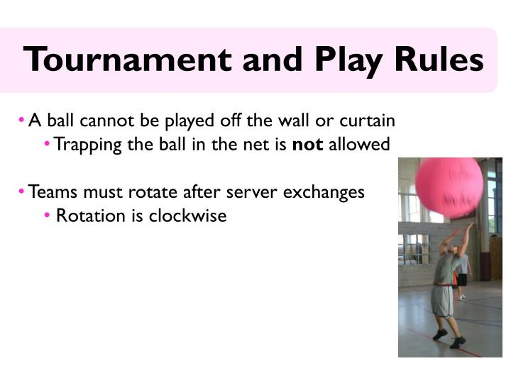 A ball cannot be played off the wall or curtain
