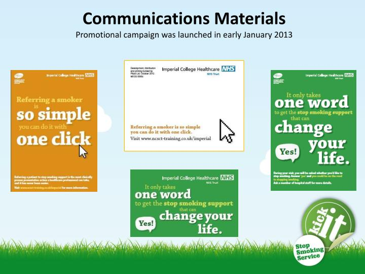 Communications Materials