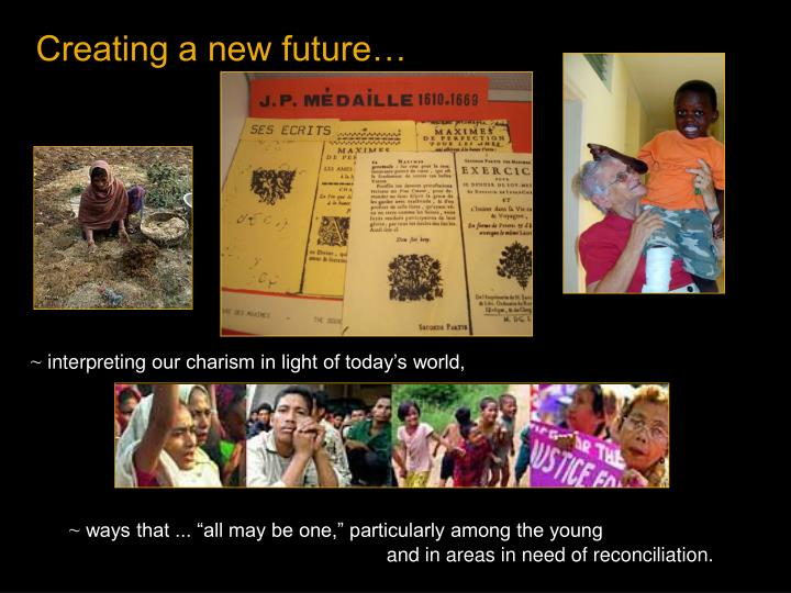 Creating a new future…