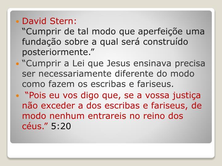 David Stern: