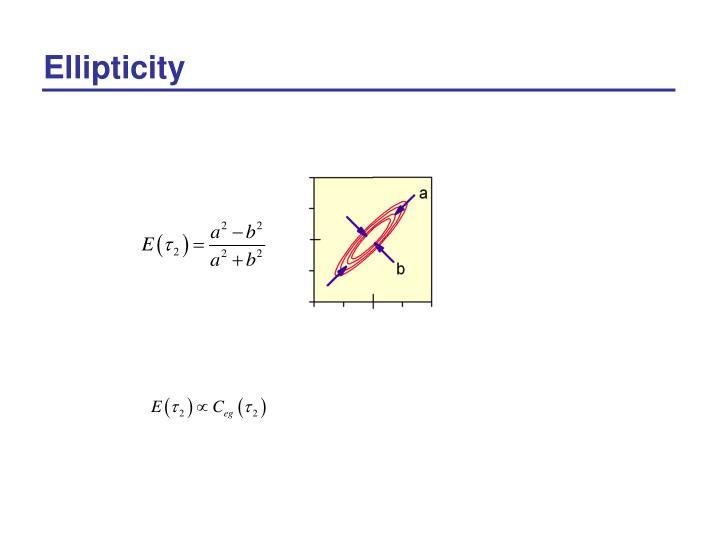 Ellipticity