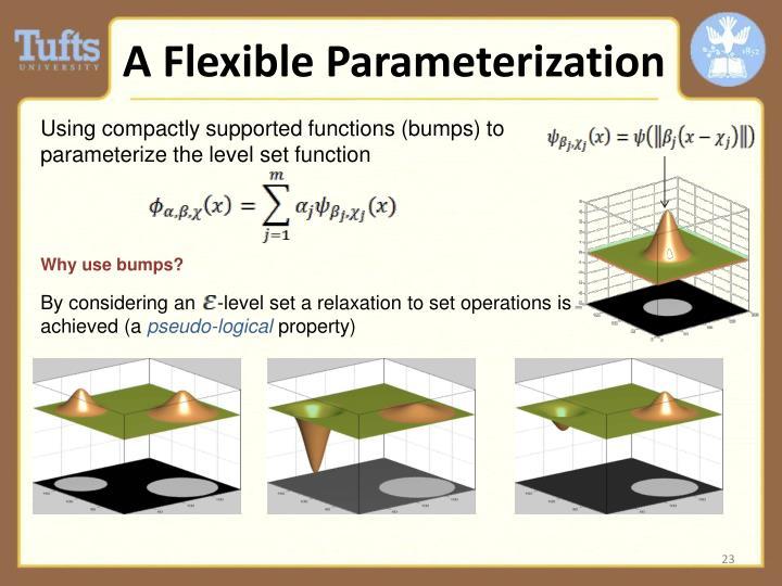 A Flexible Parameterization