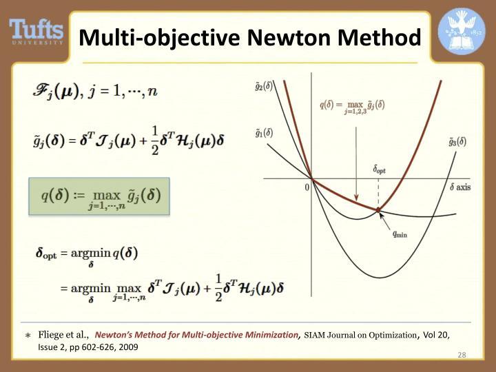 Multi-objective Newton Method