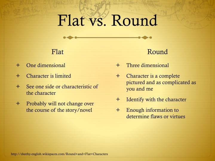 Flat vs. Round
