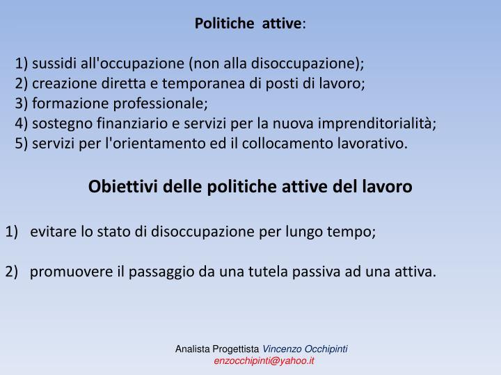 Politiche