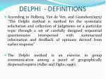delphi definitions